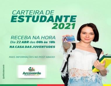 Casa das Juventudes sedia 2ª emissão da Carteira de Estudante 2021 em Arcoverde
