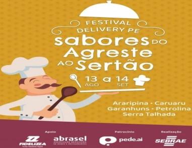 Sabores do Agreste ao Sertão: Festival Gastronômico Delivery PE começa nesta quinta-feira