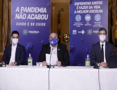 Governo de PE libera atividades no Grande Recife, Zona da Mata, Agreste e parte do Sertão