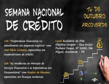 Arcoverde: Seminário apresenta opções de acesso a crédito para micro e pequenas empresas